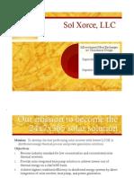 Gurin Sol Xorce Investor Presentation 112309