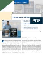 Zeolite Water Refrigerator