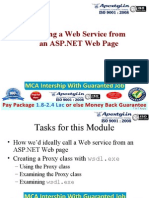 Calling a Web Service From an ASP.net Web Page