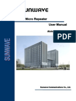 GSM Micro Repeater User Manual