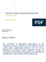COSO Internal Control - Integrated Framework