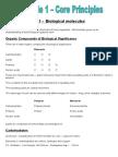 Basic Biological Molecules