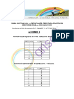 Corrector Directores Modelo b 2014 Arisoft