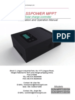 User Manual for MPPT-5015A 3015A