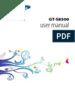 GT-S8500_UM_EU_Bada2.0_Eng_Rev.1.0_120216_Screen