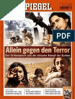 'Der IS-Vormarsch und der einsame Kampf der Kurden' - Spiegeltitel Nr.44/27.Oktober 2014