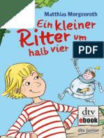 Ein Kleiner Ritter Um Halb Vier - Matthias Morgenroth