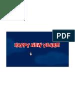 NewYear's greeting..
