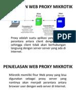 Web Proxy Mikrotik