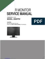 2005fpw Ultrasharp 201 Lcd Monitor
