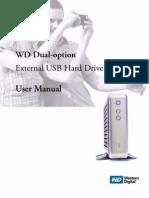 WD Dual-option™ External USB Hard Drive User Manual