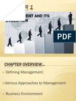 Ch 1 Management & Its Evolution