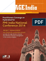 Practitioners Converge on Hyderabad for PMI India National Conference 2014