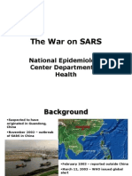 The War on SARS
