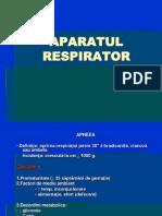 Patologia AP. Respirator