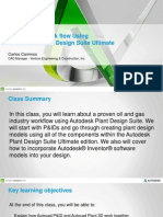 Presentation_2021_PD2021-Plant Design Workflow Using Autodesk Plant Design Suite Ultimate Presentation