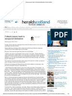 Cultural Journey Leads to Unexpected Destination _ Herald Scotland