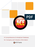 ACE EQUITY Corporate Database Update