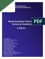 sonographic protocol elbow