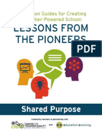Shared Purpose--Discussion Guides for Creating a Teacher-Powered School