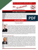 Newsletter - Sept 2014 Public Evaluations