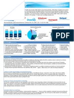 Sealed Air Fact Sheet 2012