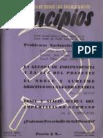 PRINCIPIOS N°15  SEPTIEMBRE DE 1942 - PARTIDO COMUNISTA DE CHILE