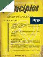 PRINCIPIOS N°16 - OCTUBRE DE 1942 - PARTIDO COMUNISTA DE CHILE
