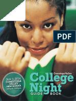 Conestoga Valley College Night Guide Book