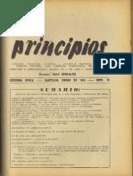 PRINCIPIOS N°19 - ENERO DE 1943 - PARTIDO COMUNISTA DE CHILE