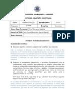 Questionário Economia.doc