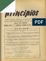 PRINCIPIOS N°20 - FEBRERO DE 1943 - PARTIDO COMUNISTA DE CHILE