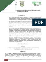 ORDENANZA DE CREACION MUNICIPAL DE TRANSITO 2014 (1).docx