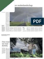 Serie windmolenplannen