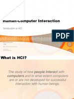 Notes Fp511 Chapter1 Intro to Hci