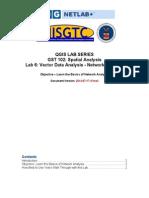 Vector Data Analysis Network Analysis_Labs