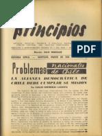 PRINCIPIOS N°21 MARZO DE 1943 - PARTIDO COMUNISTA DE CHILE