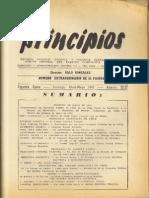 PRINCIPIOS N°22 Y N°23 - ABRIL - MAYO DE 1943 - PARTIDO COMUNISTA DE CHILE