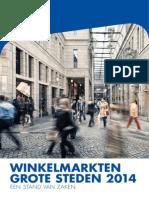 NVM Winkelmarkten grote steden 2014