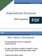 Organisational Structures Powerpoint Presentation1507