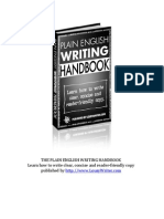 Plain English Writing Handbook