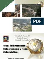 Clase de Rocas Sedimentarias y Meteorización.ppt