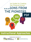 Instructional Approaches--Discussion Guides for Creating a Teacher-Powered School