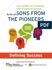 Defining Success--Discussion Guides for Creating a Teacher-Powered School