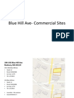 Blue Hill Ave- Commercial Sites