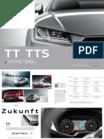 Audi TT, TT Roadster, TTS & TTS Roadster Catalogue (DE)