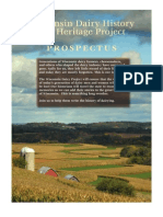 Wisconsin Dairy History and Heritage