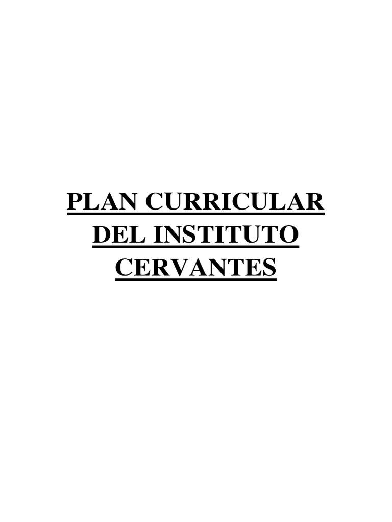 PLAN CURRICULAR DEL INSTITUTO CERVANTES.docx