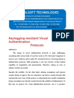 IEEE 2014 DOTNET MOBILE COMPUTING PROJECT Keylogging-resistant Visual Authentication Protocols