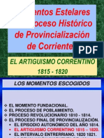 5. 2014.20.08. Proceso Final. Artiguismo Correntino.ppt